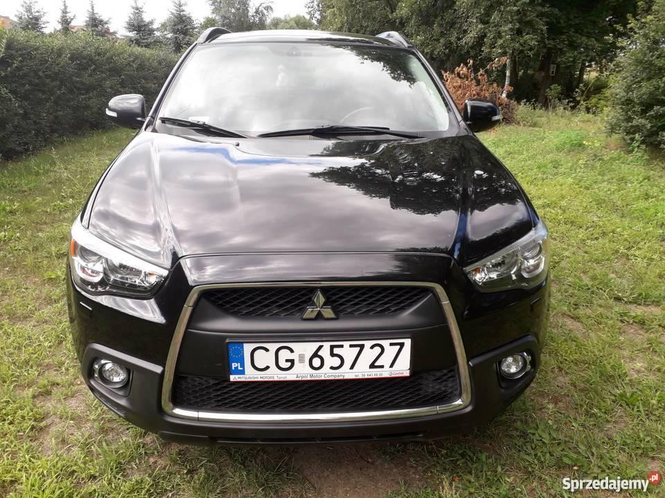 Eleganckie i bezpieczne Mitsubishi ASX ze