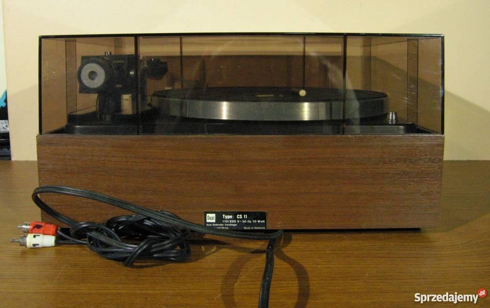 Dual CS-1009 Solidny Gramofon Full Automat Klasyk