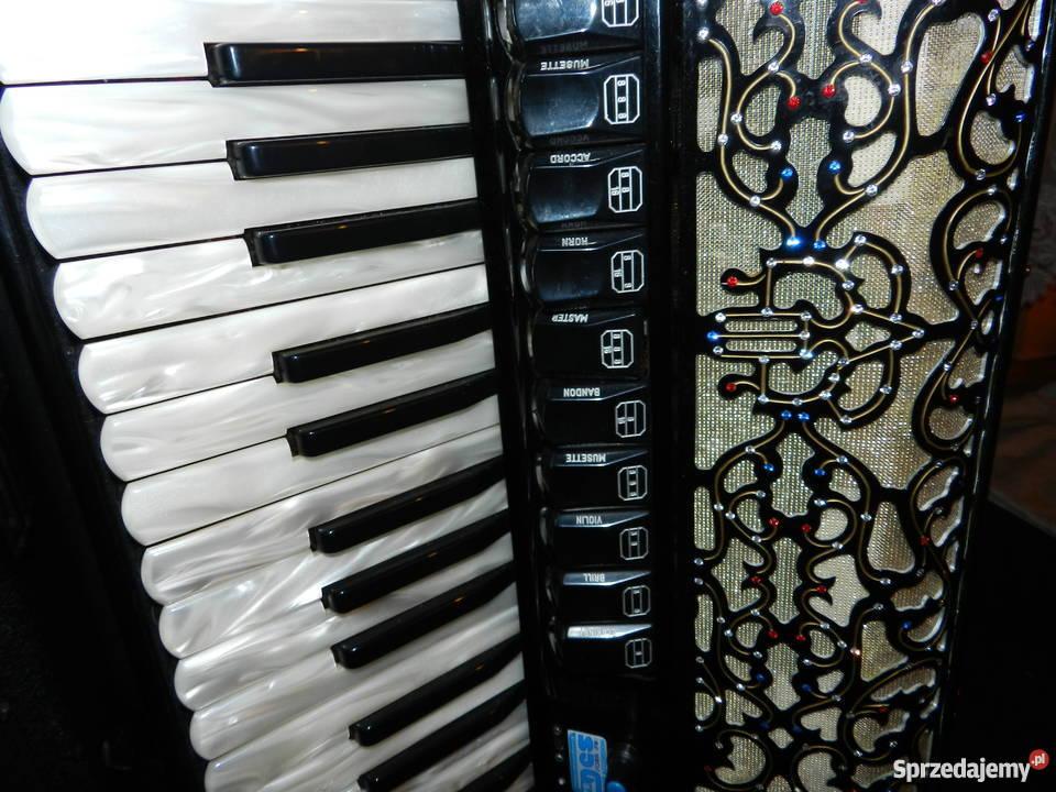 Akordeon Fisart Vignoni Instrumenty klawiszowe i MIDI Gorzów sprzedam