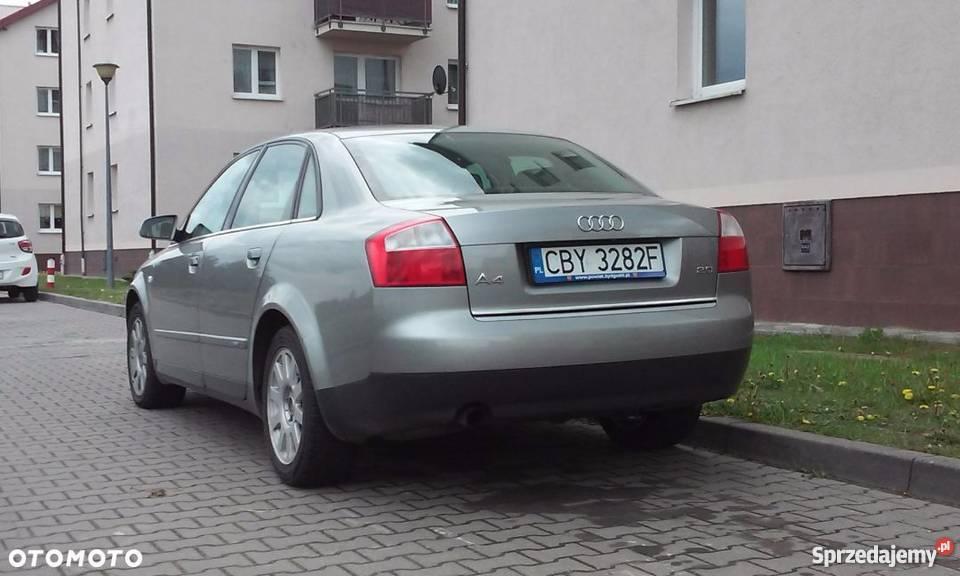 Audi A4 Audi A4 B6 Wersja Sline Bezwypadkowy Benzyna 20 Bydgoszcz