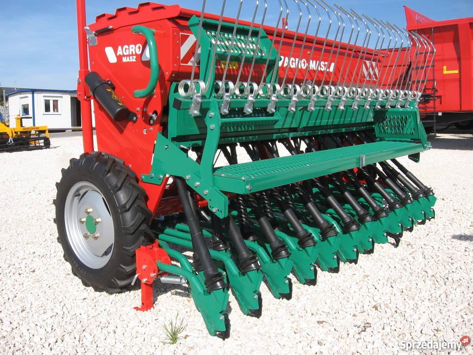 Ekstremalne Agro-Masz Nowy Siewnik Zbożowy Fabryczny Gwarancja 24 m. Podlesie  @KX-58