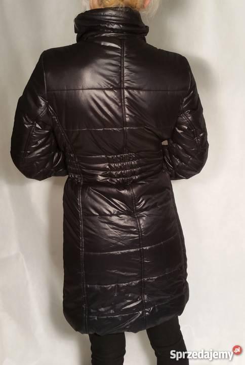 42ddbe35a5296 Pikowana ,czarna kurtka zimowa,rozm.M Lubliniec - Sprzedajemy.pl