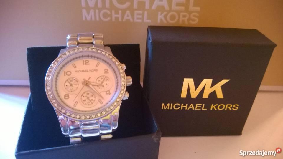 da171dbdc7936 Michael Kors zegarek damski srebrny cyrkonie MK damskie małopolskie Kraków