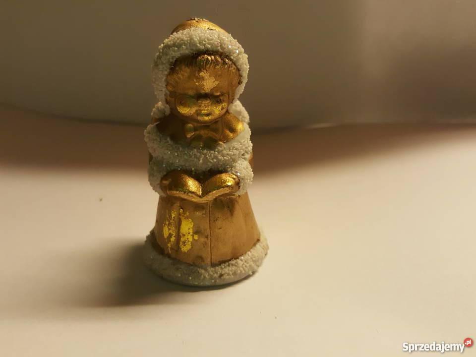 ANIOŁEK stojący figurka ozdoba święta Złotniki sprzedam