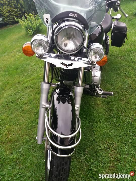 Piękna Honda Shadow VT 125 bagażnik Łobzów sprzedam