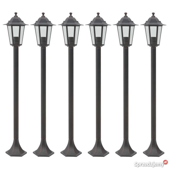 lampy ogrodowe stojaące