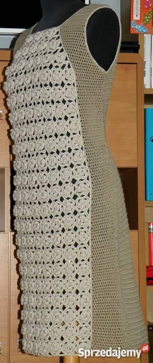 924f9f465c sukienki na szydełku - Sprzedajemy.pl