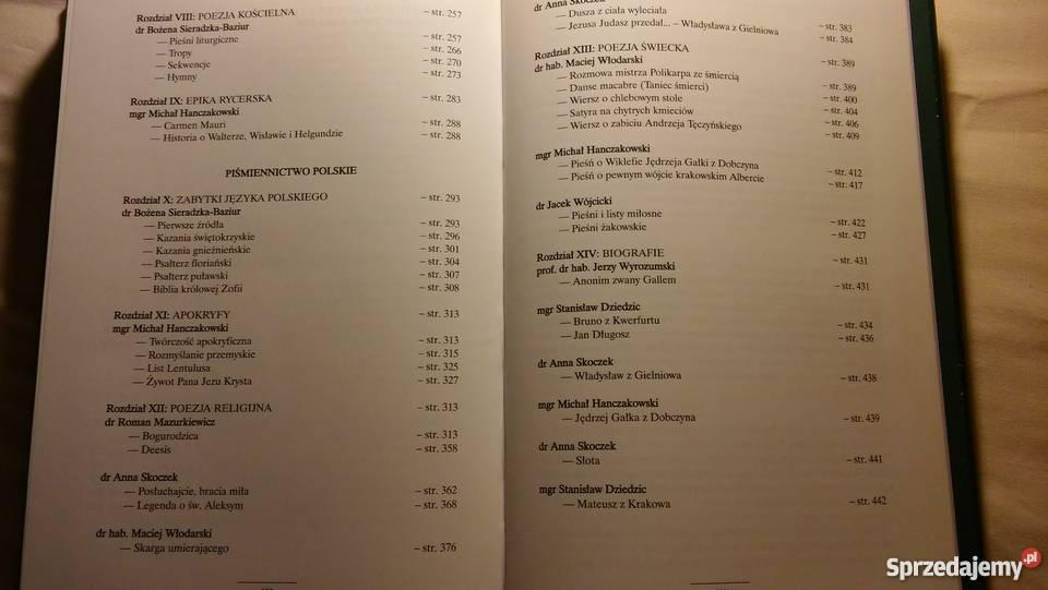 Sprzedam Historię Literatury Polskiej w X tomach Gryfino
