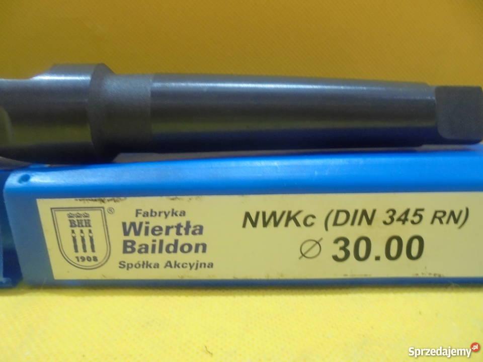 Wiertło NWKc 30mm HSS DIN 345 RN NOWE Katowice sprzedam