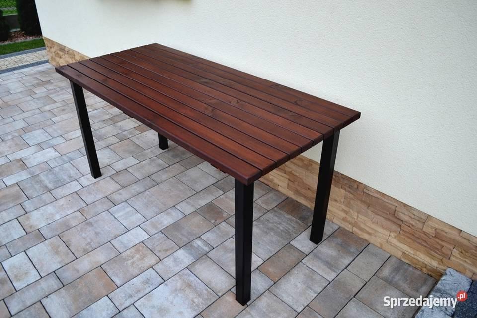 Stolik kawowy Stół ogrodowy drewniany SDN004