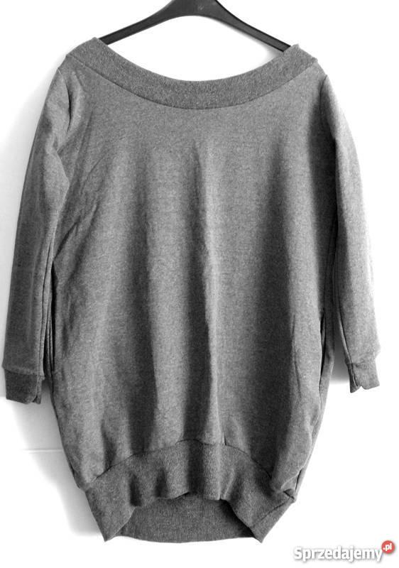 4a631900b4 Nowa damska bluza tunika szara sukienka serce Rozmiar 40(L) Częstochowa