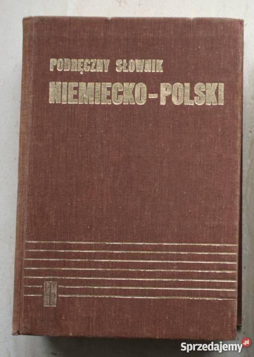 Podręczny słownik niemieckopolski Jan Chodera Straszyn