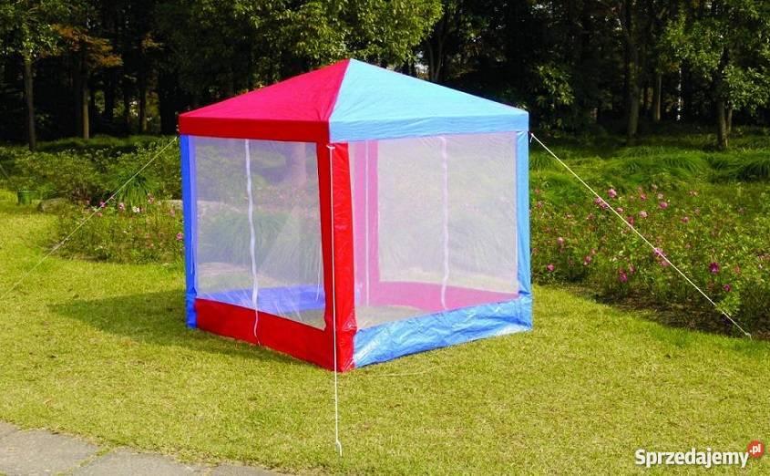 Dyzio namiot pawilon DOMEK dla DZIECI z moskitierą
