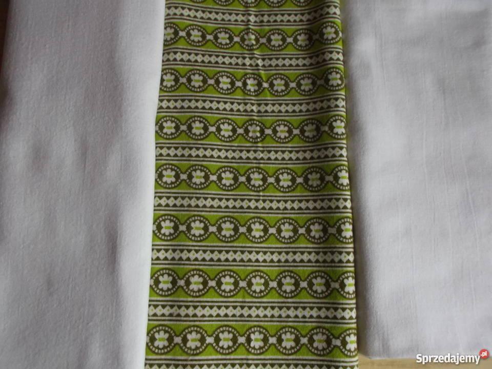 f9b57f540ef61f Tkanina bawełniana flanela - 3 kupony Czersk - Sprzedajemy.pl