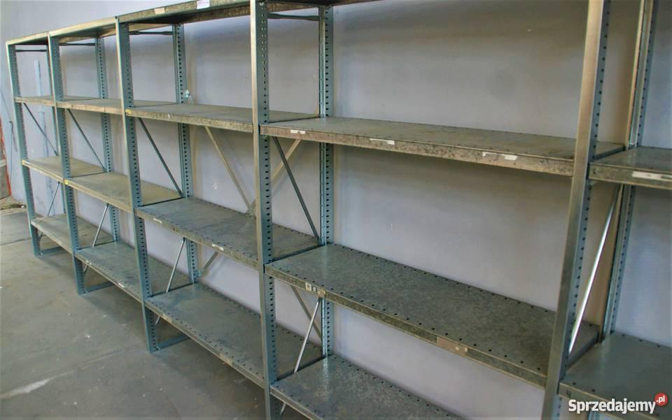 Regał Metalowymagazynowydo Garażu Nedcon 625x200x40cm20p