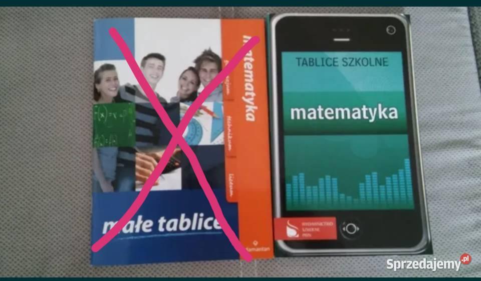 słowniki, tablice matematyczne, pomoce naukowe