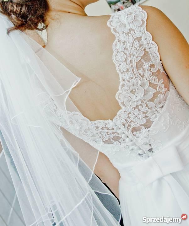 c6083fbab5 Piękna Suknia Ślubna Sensual Wieliczka - Sprzedajemy.pl