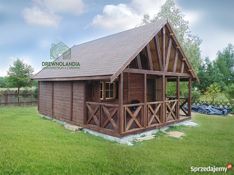 domek letniskowy ogrodowy altana 35 dom drewna Szczecin