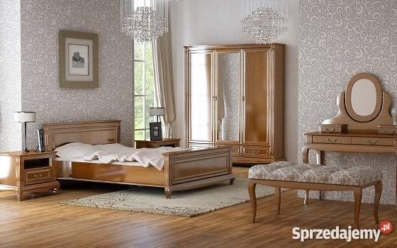 łóżko Dębowe Diamond Komplet Do Sypialni Producent Mebli