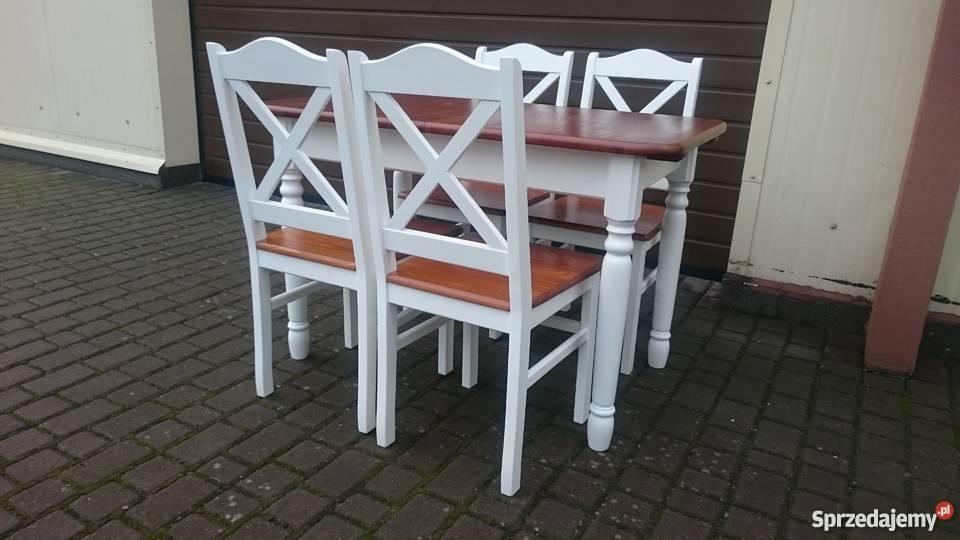 Nowoczesne modne krzesło krzyżak prowansalskie Koszalin