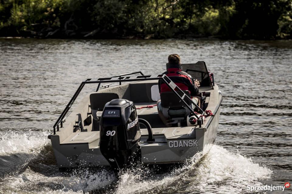 Aluminiowa łódź JTECH F17 pomorskie Gdańsk
