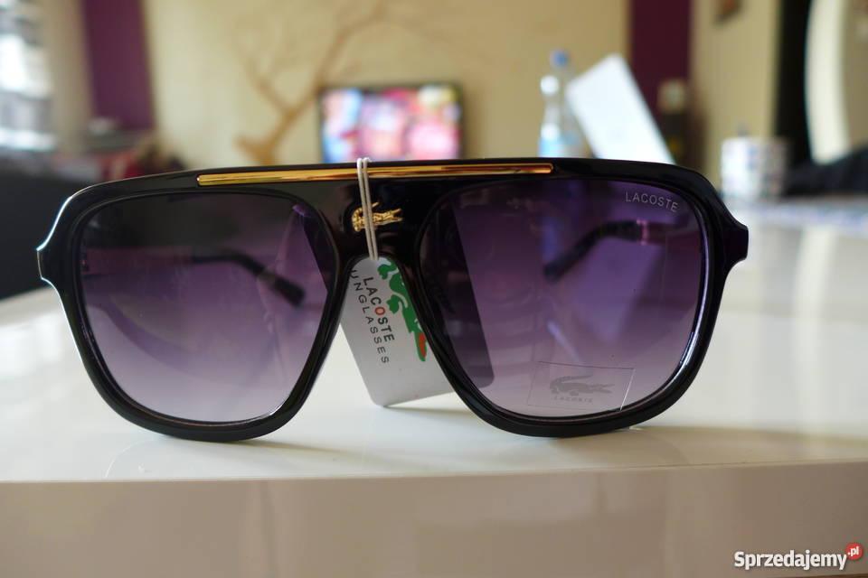 Okulary przeciwsłoneczne cieniowane Lacoste unisex Warszawa ... 042dc32347