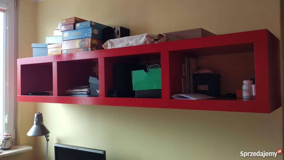 Półka Czerwona Prawdopodobnie Ikea 190x35x38