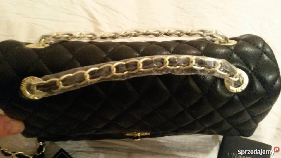 6a780bfe5cacd Torebka Chanel jumbo nowa skóra Leszcze - Sprzedajemy.pl