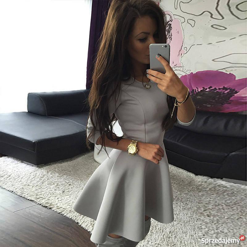 Wystarczy Cudowna Rozkloszowana Sukienka XS Gliwice - Sprzedajemy.pl #VQ-82