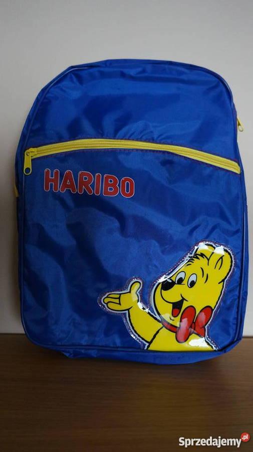 HARIBO plecak z kultowym misiem Artykuły szkolne pomorskie Gdańsk