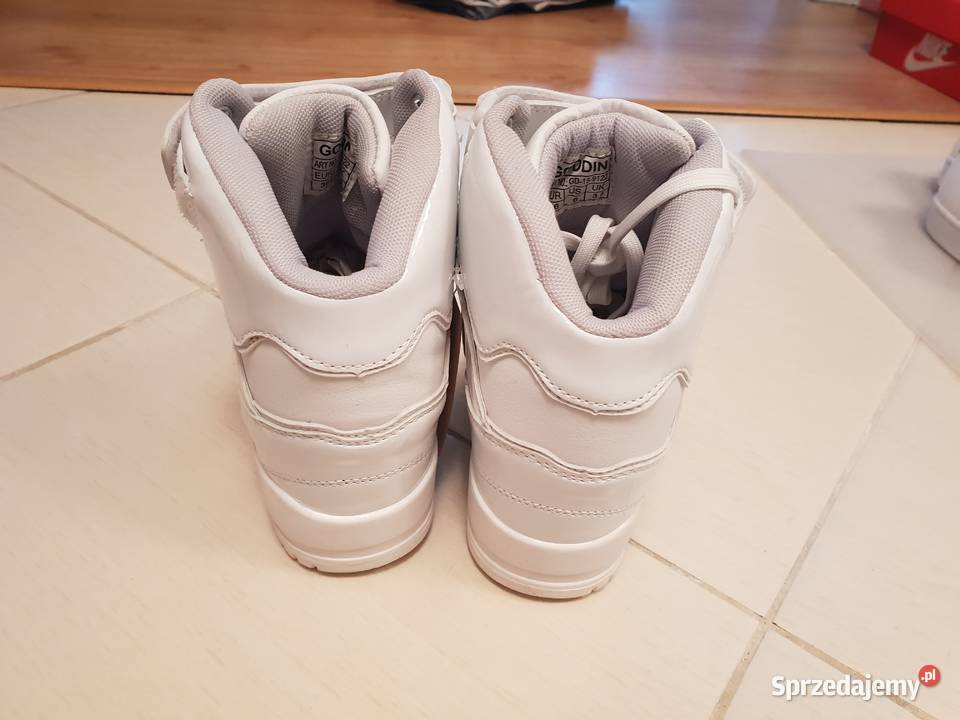 sneakersy białe Sprzedajemy.pl