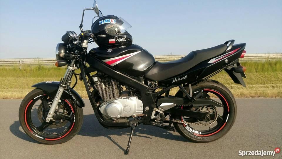 Piękne Suzuki GS500 KAT. A2 2005r. Kruszwica - Sprzedajemy.pl