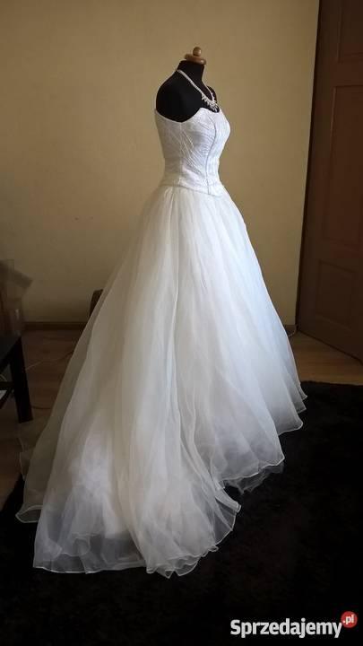 4034fd5d29 Suknia ślubna księżniczka 36 38 Sosnowiec - Sprzedajemy.pl