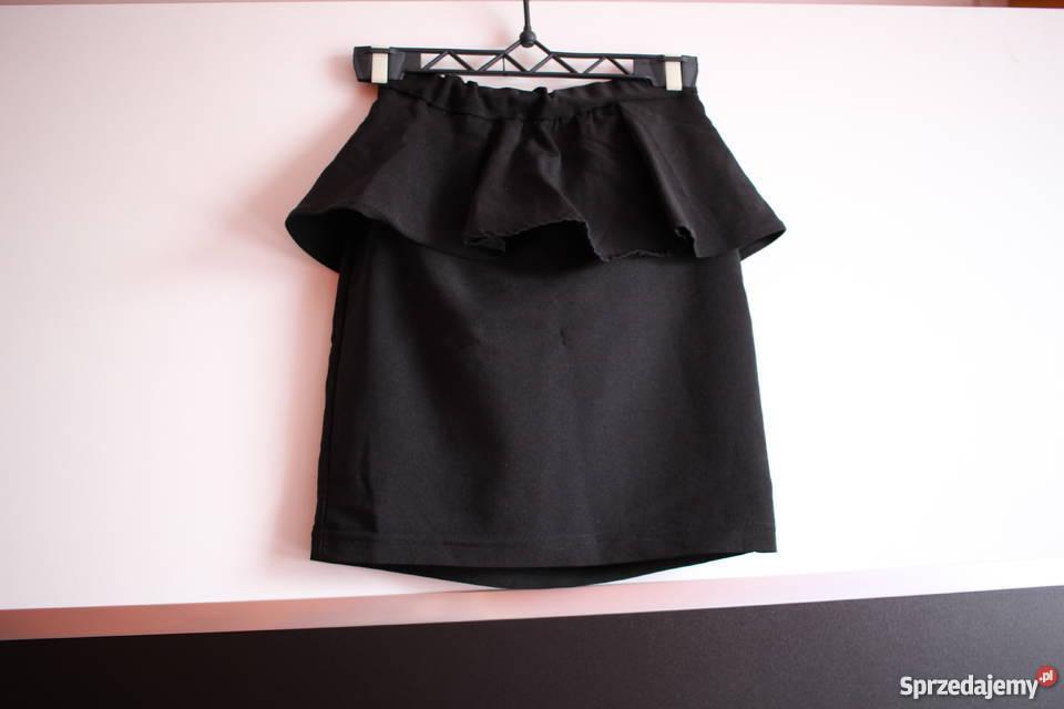 Czarna spódniczka spódnica xxs 32 xs 34 h&m baskinka Toruń