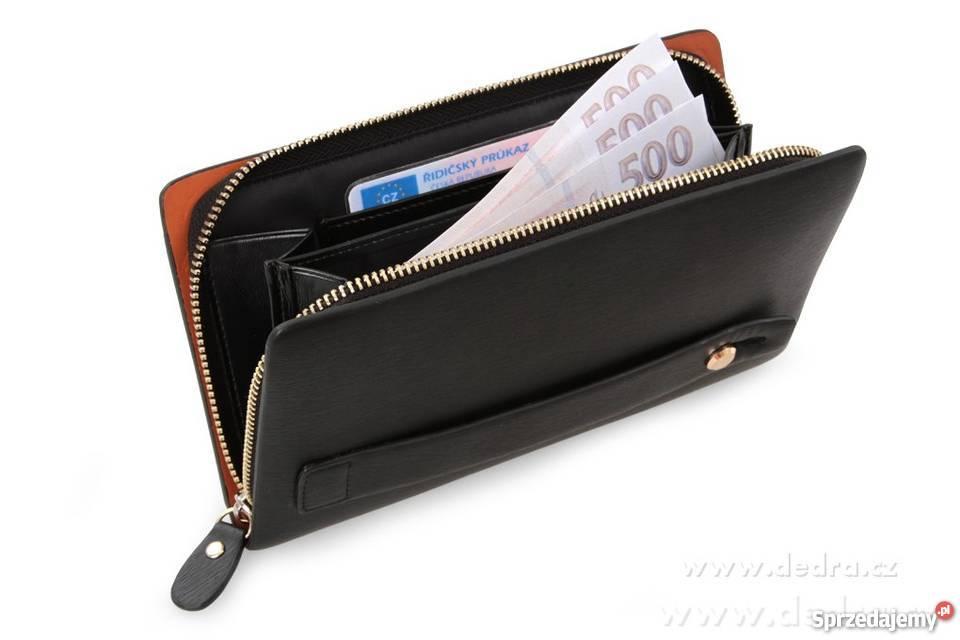 7800ffd4caed8 2w1 luksusowy męski portfel etui Dodatki warmińsko-mazurskie Elbląg