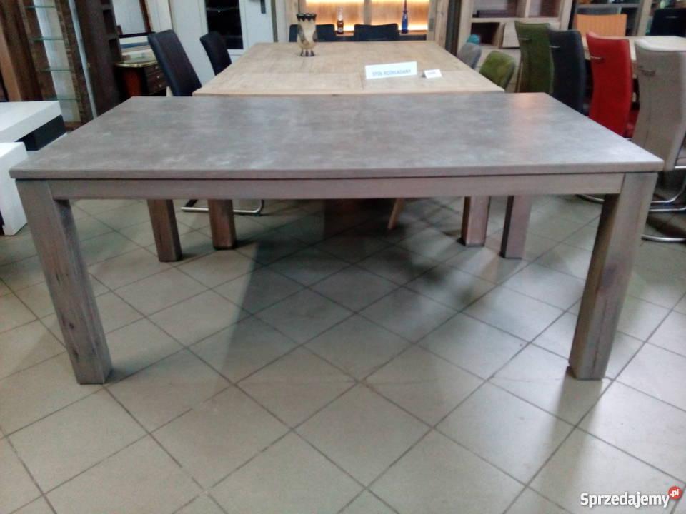 PROMOCJA!!! Duży stół Ermondo z ceramiczną powłoką H&H 180cm