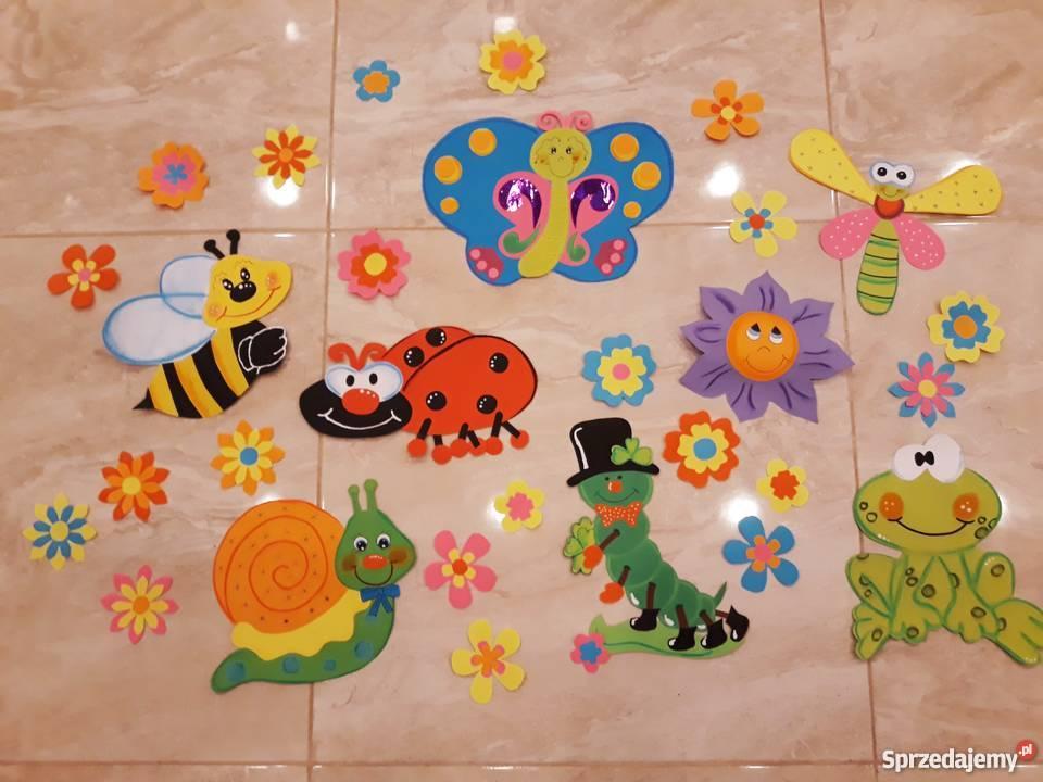 Wiosna Dekoracje Z Papieru Szkoła Przedszkole
