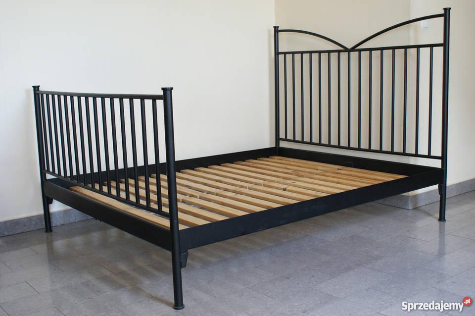 Metalowe Kute łóżko Ikea Rama Stelaż Idealny Stan Kraków
