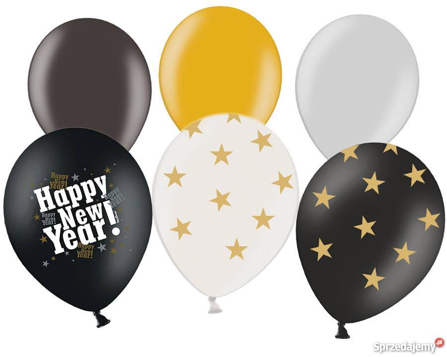 Nowy 2016 Sylwestrowe balony i dekoracje Dekoracje i ozdoby Katowice