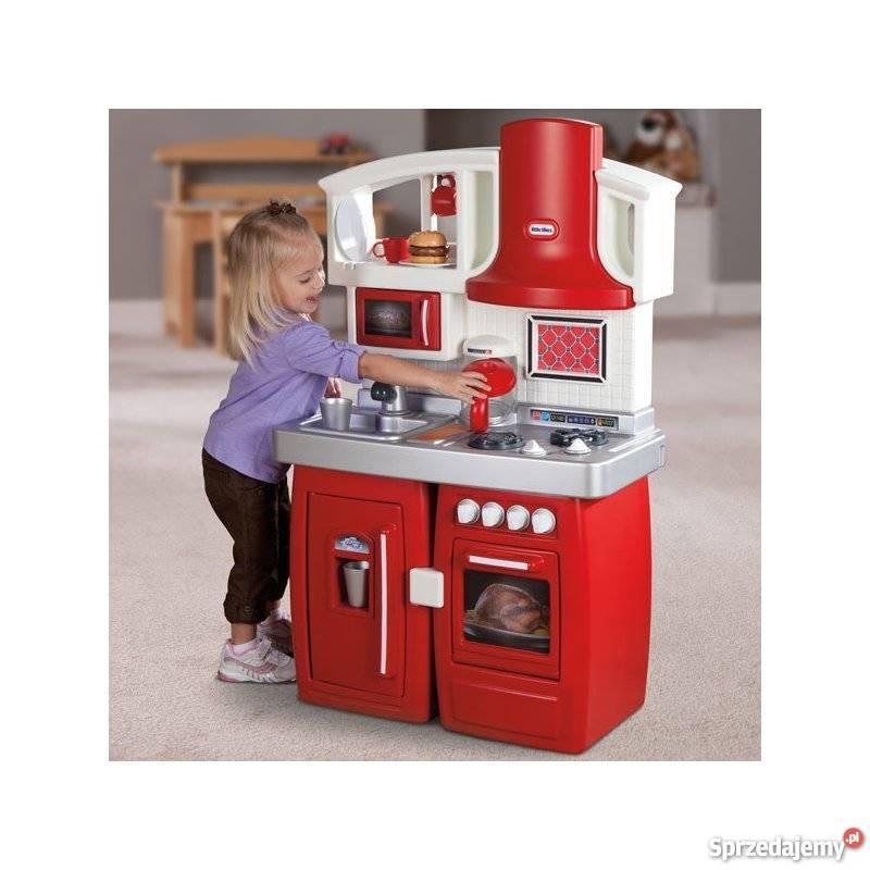 Little Tikes Kuchnia Rozkładana 2 W 1 Elektroniczna 26 Akces