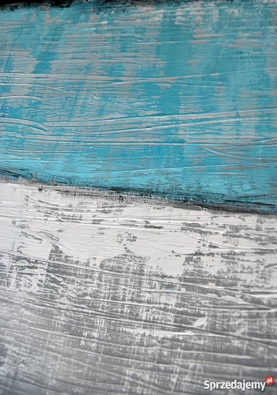 Abstrakcja TS1 nowoczesny obraz ręcznie malowany Malbork sprzedam