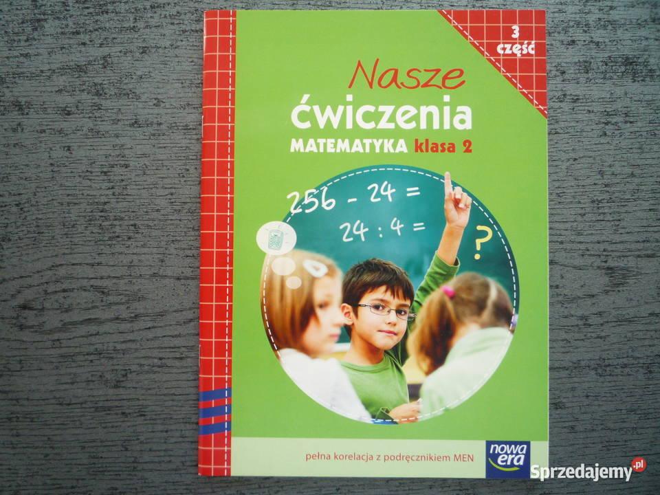 NOWE Nasze ćwiczenia 2 część 3 Klasa 2 Matematyka Nowa Era