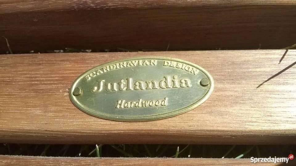 Krzesło Ogrodowe 7poz Jutlandia Kamstrup Eukaliptus Twardy