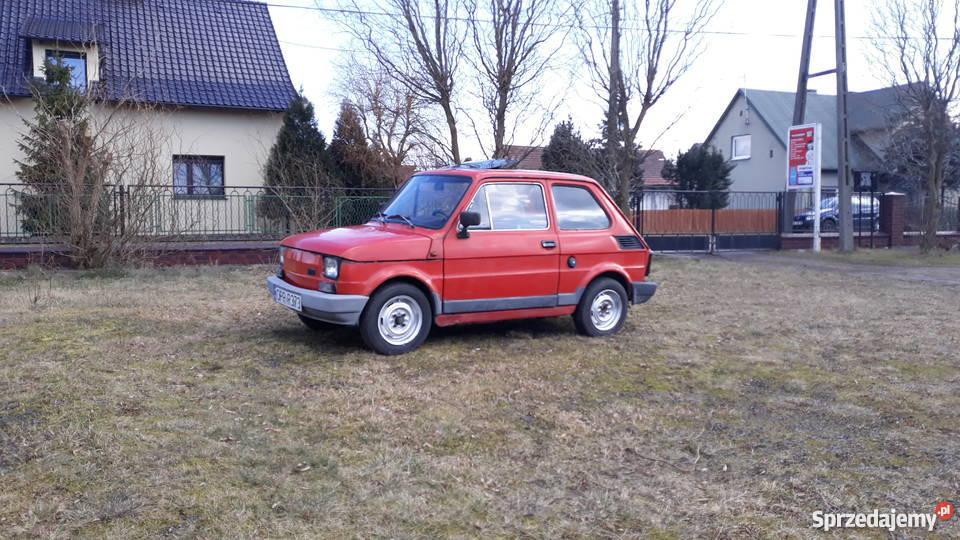 Fiat 126 P z szyberdachem 650cm3 Kędzierzyn-Koźle