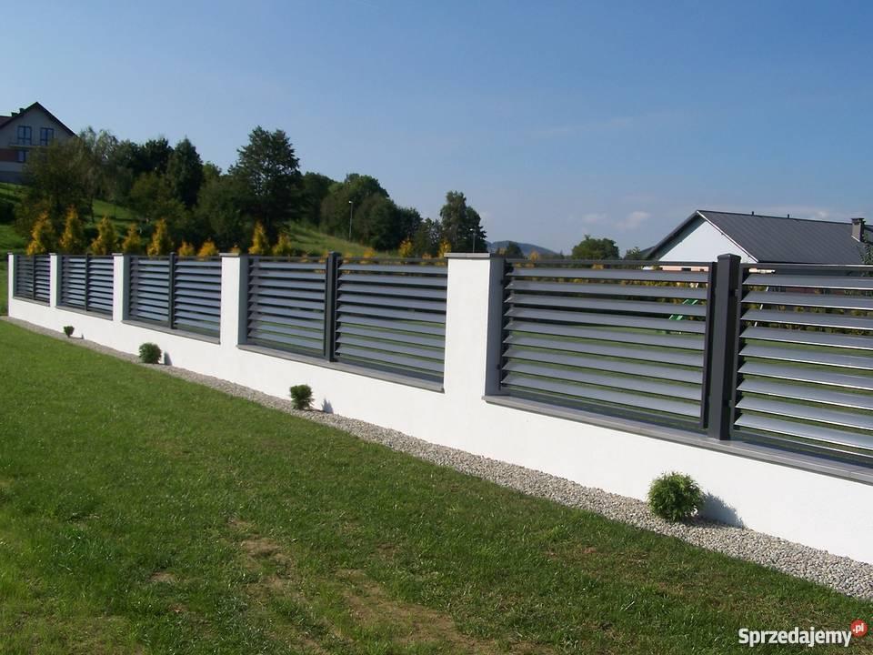 Ogrodzenia brama barierka brama przesuwna metal małopolskie Gorlice