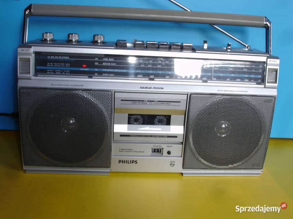 Radiomagnetofon PHILIPS D-8414