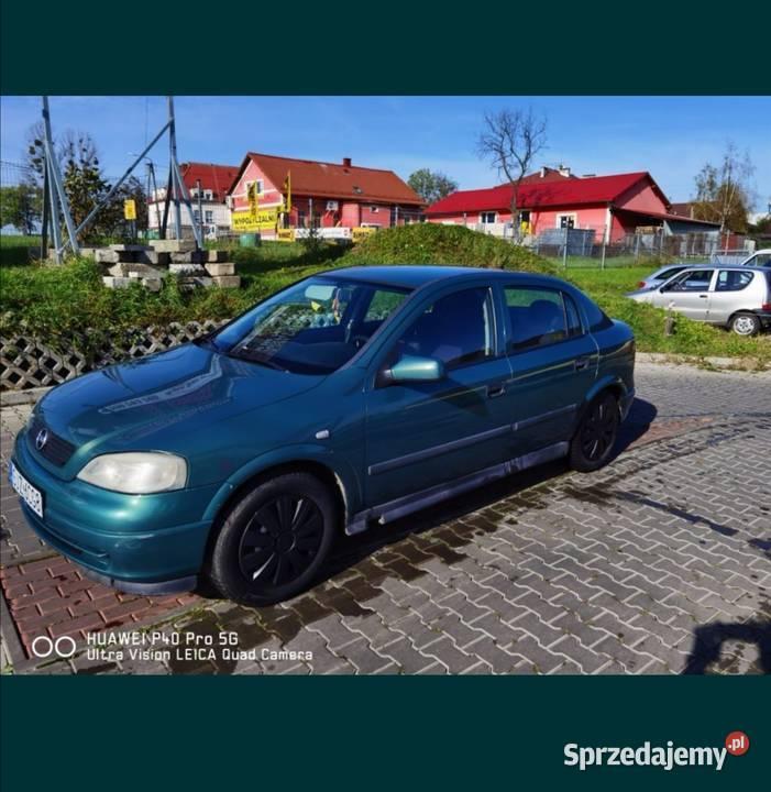 Sprzedam Opel Astra G 1,2 16v z gazem długie opłaty