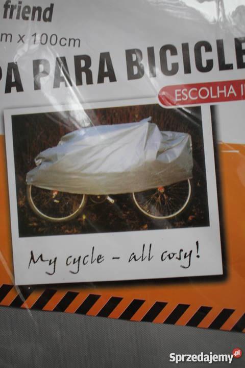 Zestaw komplet 2 siwy szary pokrowiec na rower kujawsko-pomorskie Toruń sprzedam