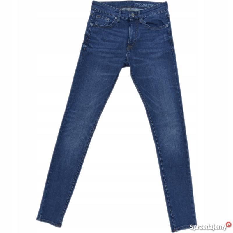 6a096c66 Spodnie męskie H&M 29/32 Super Skinny Low