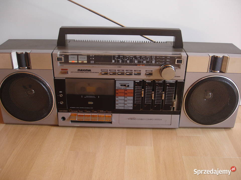 Radiomagnetofon MAXIMAL 3090
